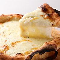 カチョカバロチーズのピッツァの画像